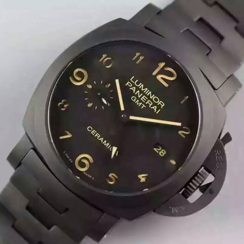 沛納海 Panerai Luminor系列pam438 搭載P9001/B自動機械機芯